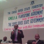 Chairman, CRS Forestry Commission, Odigha Odigha, at the occasion