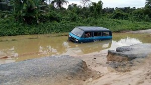 Ikom-Calabar road...the pain, the time!