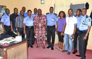 Some ACROJ members with the PPRO nd officers in his office