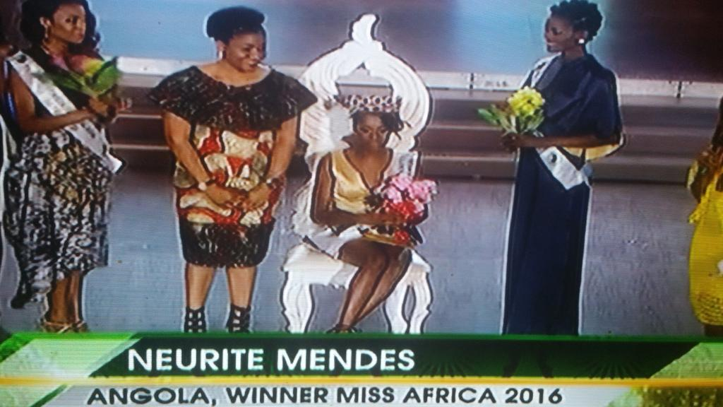 Angolan Wins Miss Africa 2016 In Calabar, Reactions Trail Event