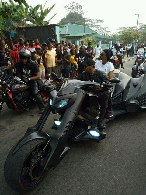 Former Cross River Governor, Donald Duke Steals Show At Calabar Bikers Carnival