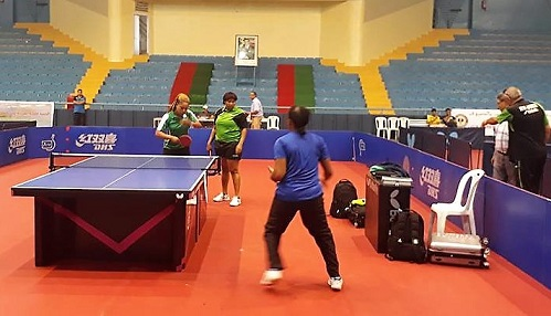 CR Table Tennis Team Makes African Tourney Semis