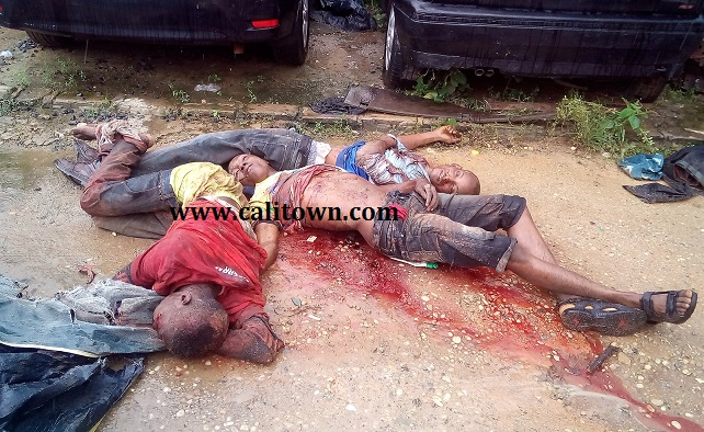 BREAKING: Police In Calabar Smash Notorious Robbery Gang Of Five
