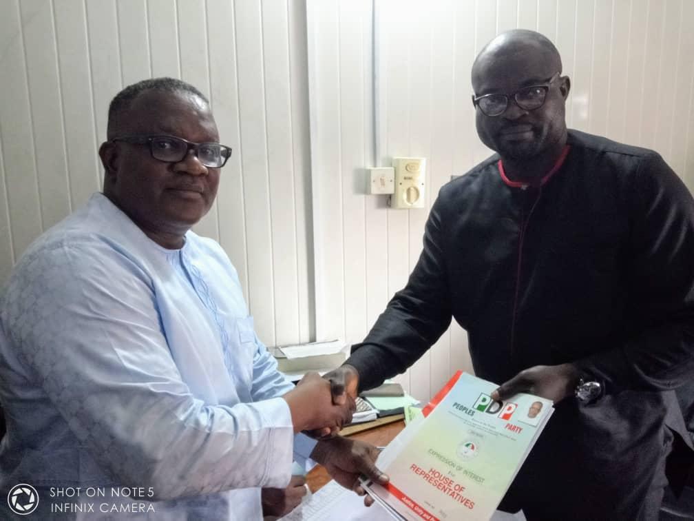 Edward Ogon's Political Interest Excite Constituents
