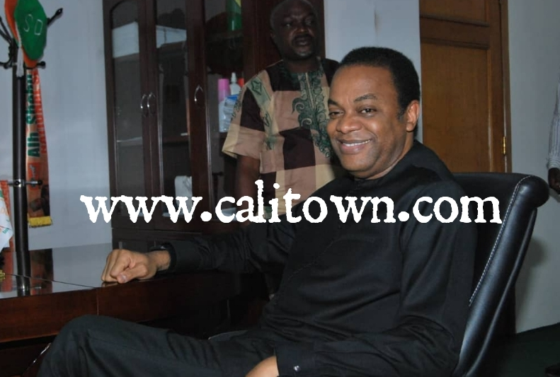 See More Pictures From Donald Duke's Visit To The SDP National Secretariat