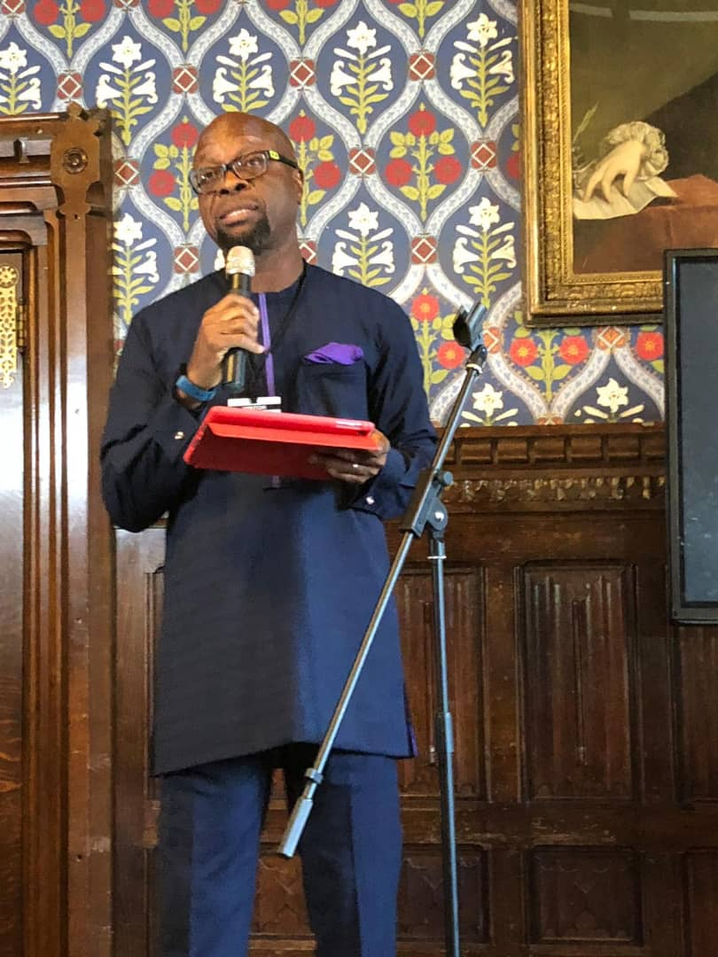 C'River SDP Guber Candidate Speaks In UK, Insists Africa Is The World's Birth Place