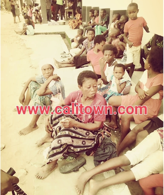 See Pictures Of IDPs From On-going Communal Conflict In Cross River