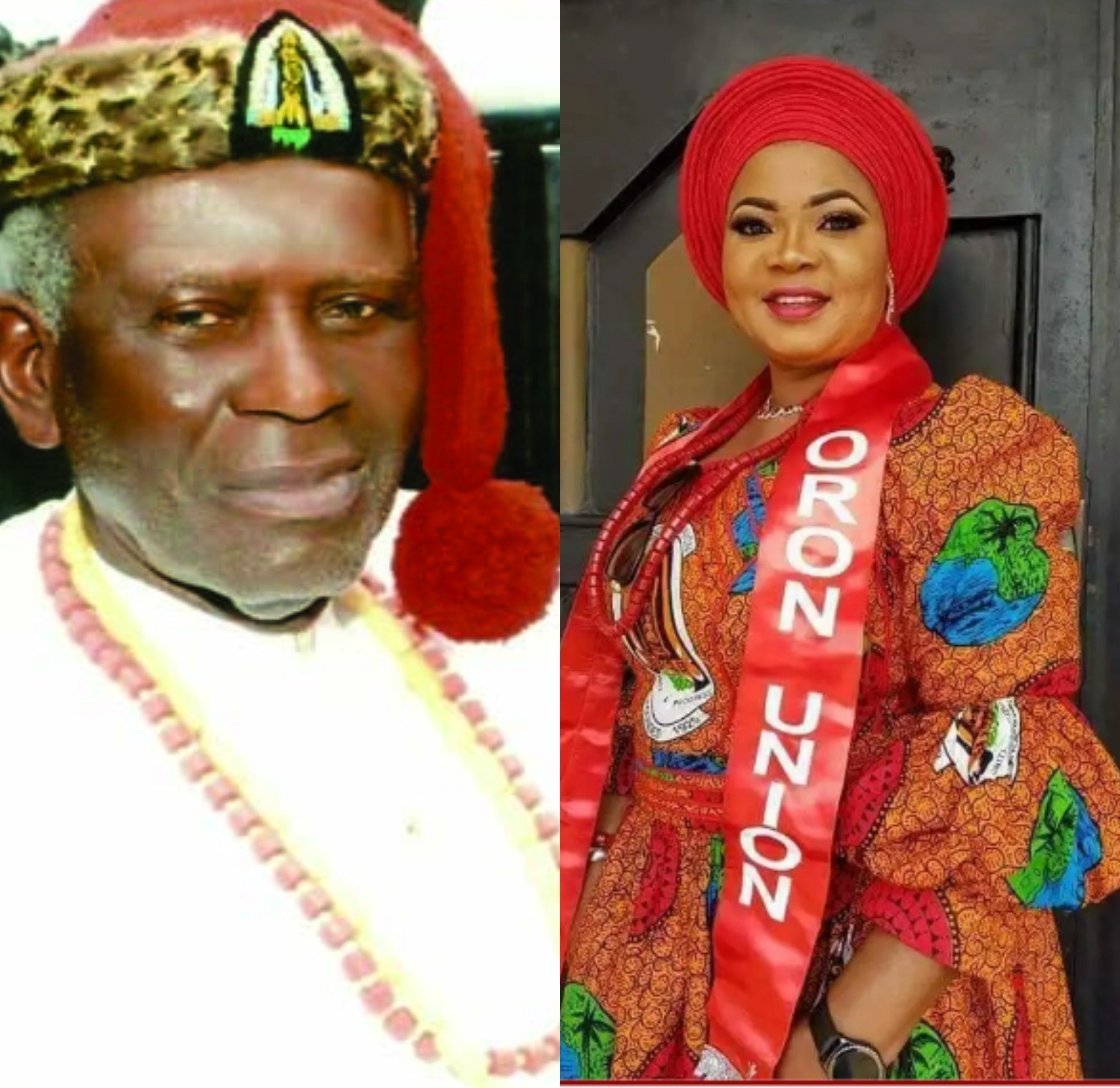 FACE OFF: President General Of Oron Union 'Wrestles' Oron Monarch