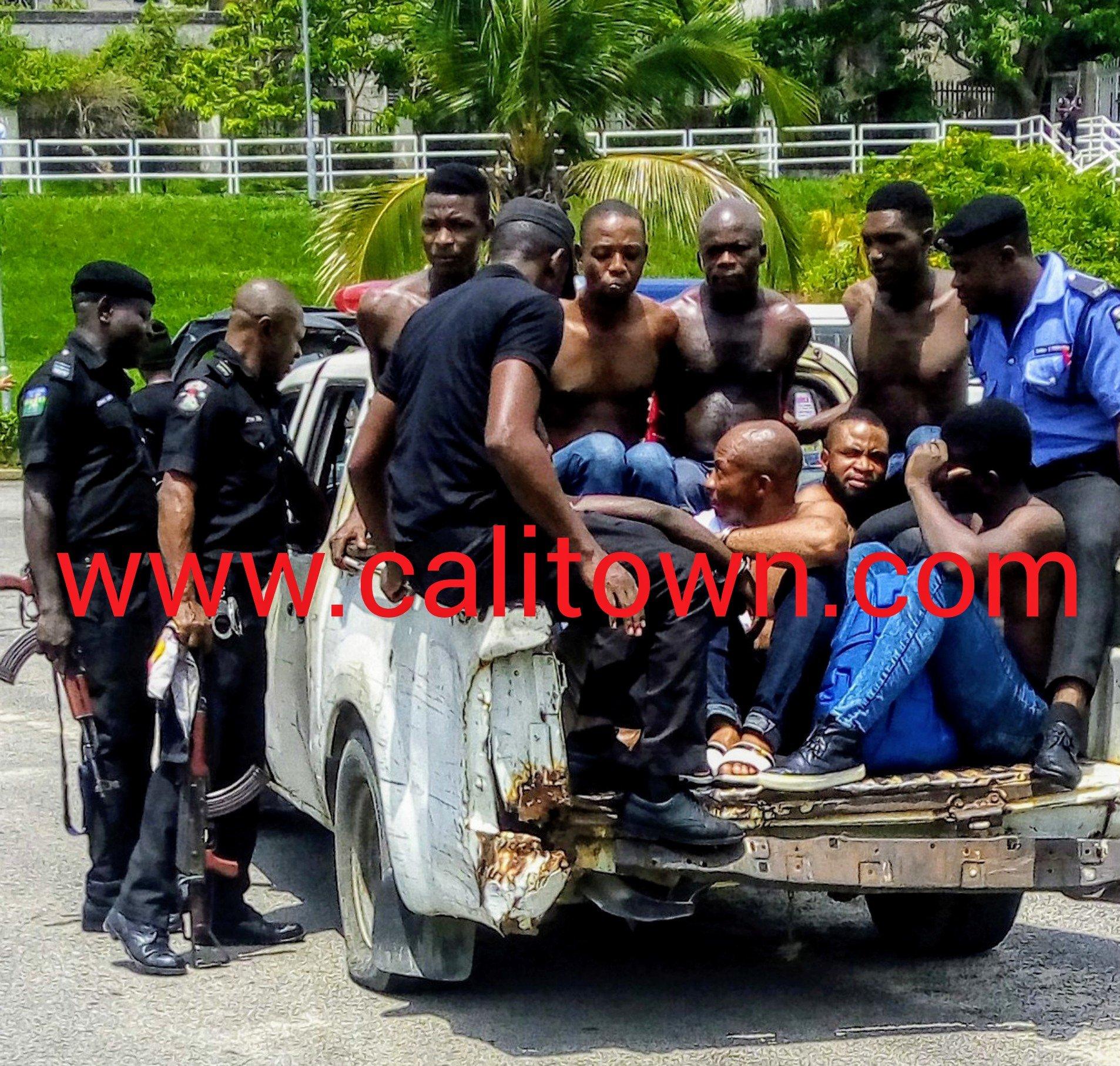 Police Storm Marina Resort, Arrest Squatters