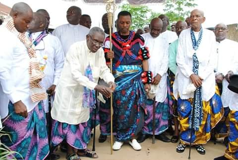 See Colourful Pictures From The Induction Of Arc. Bassey Ndem As Etubom of Ntiero Edem Efiom Ekpo Royal House, Calabar