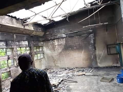 Mystery Fire Razes SEMA Warehouse In Calabar