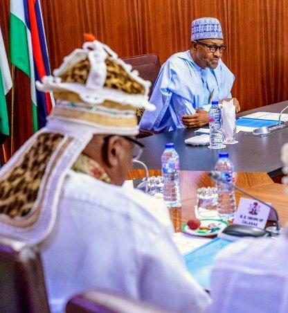 See Full Text Of The Obong Of Calabar's Address To Pres. Buhari
