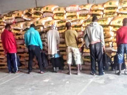 Nigerian Navy Impounds N130m Worth Of Foreign Rice In Calabar