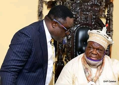 """""""Common Sense Averted Gov. Ayade vs Calabar Monarch Imminent Feud"""" – Palace Sources"""