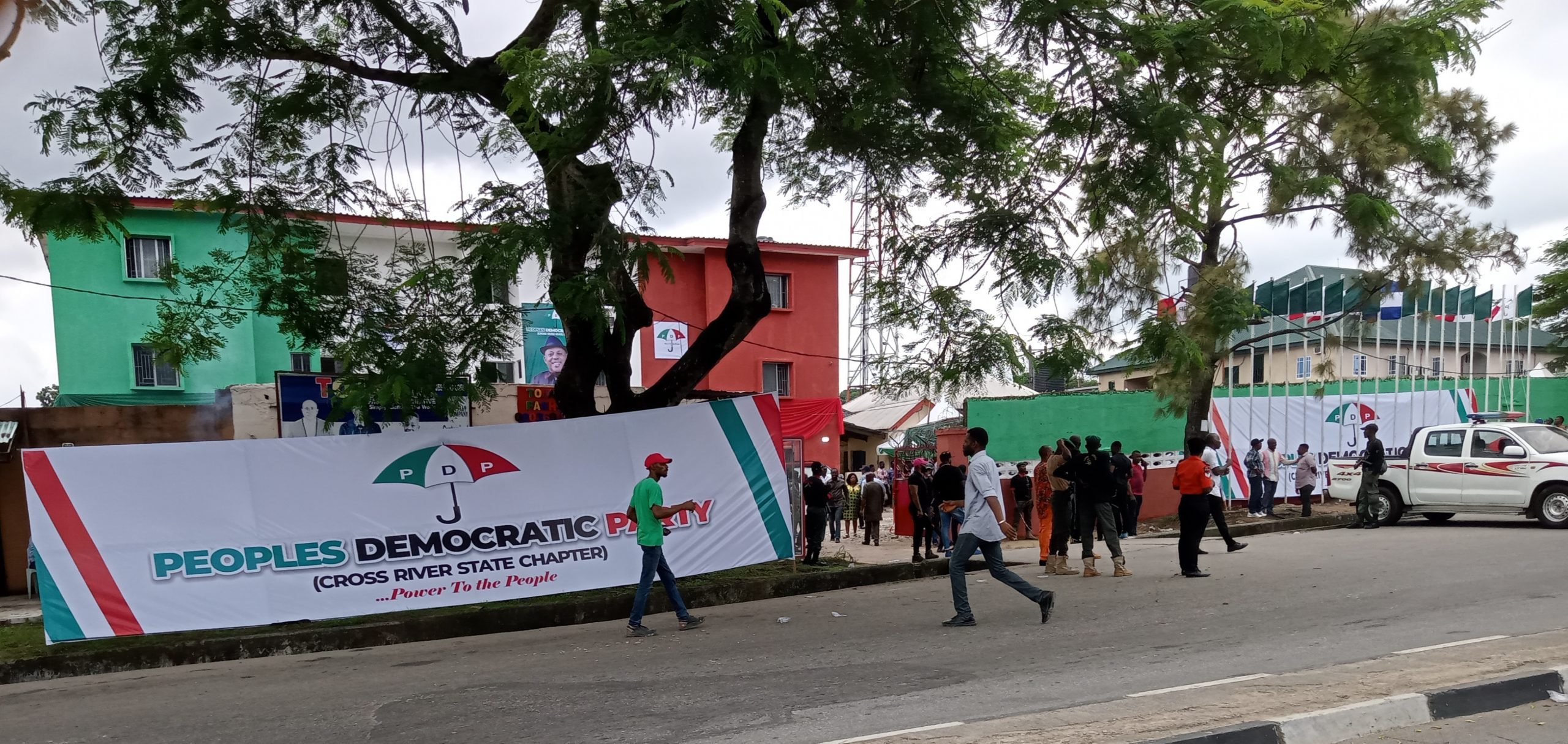PDP Acquires, Opens New Secretariat In CRS…Imoke On Ground