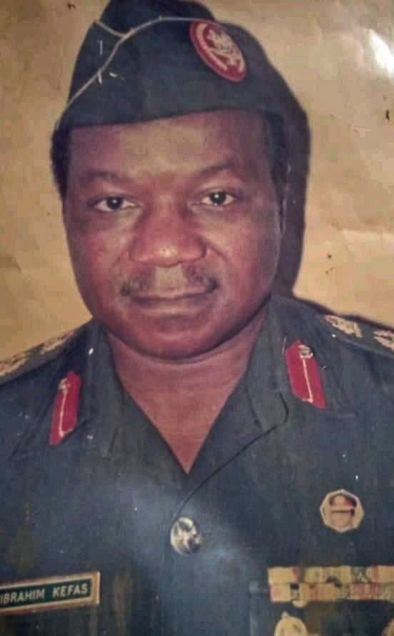 Ibrahim Kefas, Former CR Military Administrator Passes On